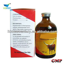 veterinary injectable antibiotic 100ml 5% 10% 20% oxytetracycline injection