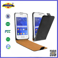 New Ultra Slim Flip PU Leather Cover Case for Samsung Galaxy Young 2,Laudtec new product