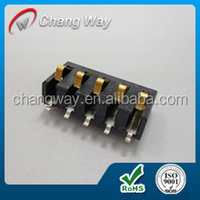 2.54mm pitch 7pin 3.5A Surface mount battery charge connector / battery terminal connectors