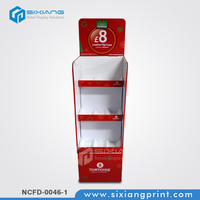 Cleaning Supplies Paper Display/Cardboard Advertising Display Stands