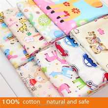 Natural and safe 100% cotton beautiful children summer wholesale fabric