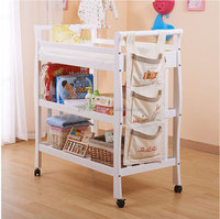 portable travel infant baby changing station