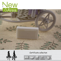 Hotel Classic White Golf Shape Branded Bath Soap With Cardboard Boxes