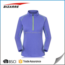 Women long sleeve blank dri fit t-shirts wholesale