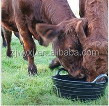 Rubber Skip,Animal feeding trough,Flexible Tub for horse feeding
