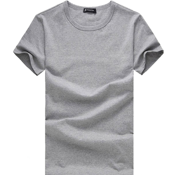 Fitted Blank Men T shirts/Gray T shirt