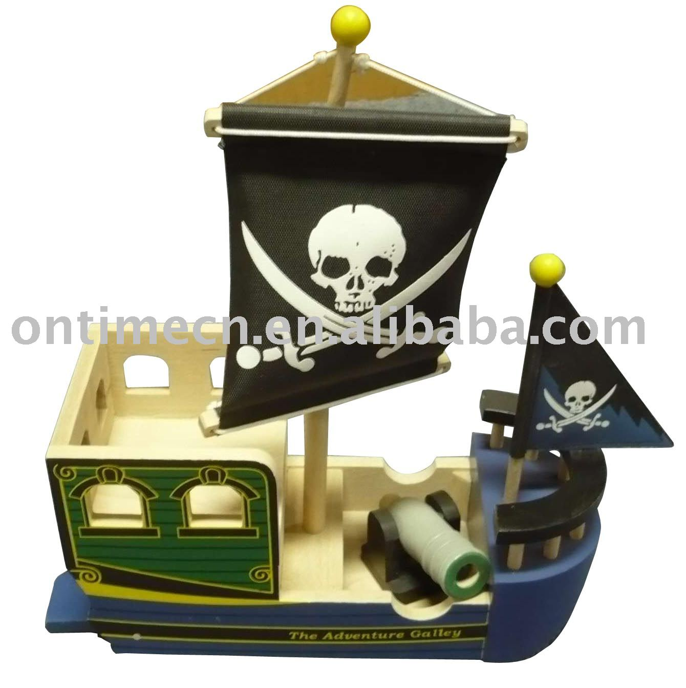 Pirate ship , wooden toys,ship toy