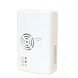 home safe LPG combustible gas detector with valve