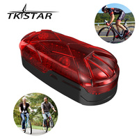 TKSTAR led light bicycle GPS tracker hidden free tracking software tracker gps TK906