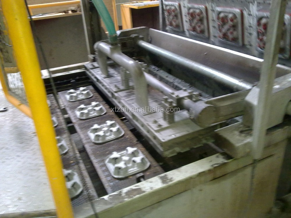 waste paper egg plate/fruit tray making machine 4800pcs/hr