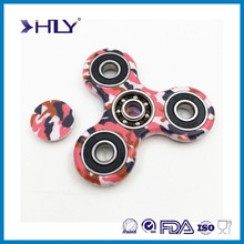 2017 new design spinner fidget and hot Sale Fidget cube Anti Stress Tri-Spinner Fidget Toy