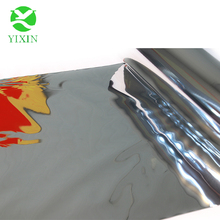 High quality hot sales double squeeze metallized PET film