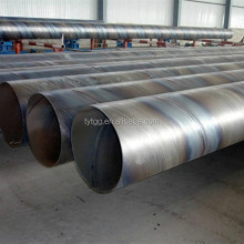 Sprial welded steel pipe with material x42 x52, sprial welded pipe used in oil and gas industry