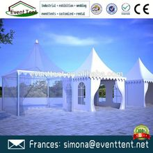 Aluminium frame garden tent pagoda tents, luxury camping tent for sale
