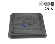 plastic box waterproof smc composite square and rectangular manhole cover and frame