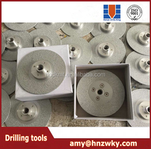 diamond cutting discs with flange diamond disc for cutting glass