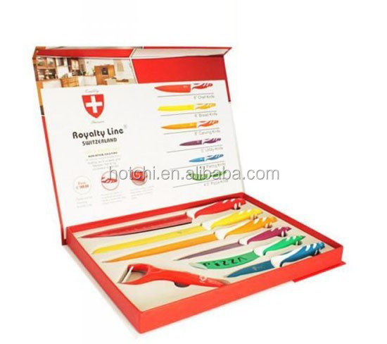 royalty line switzerland with color coating blade