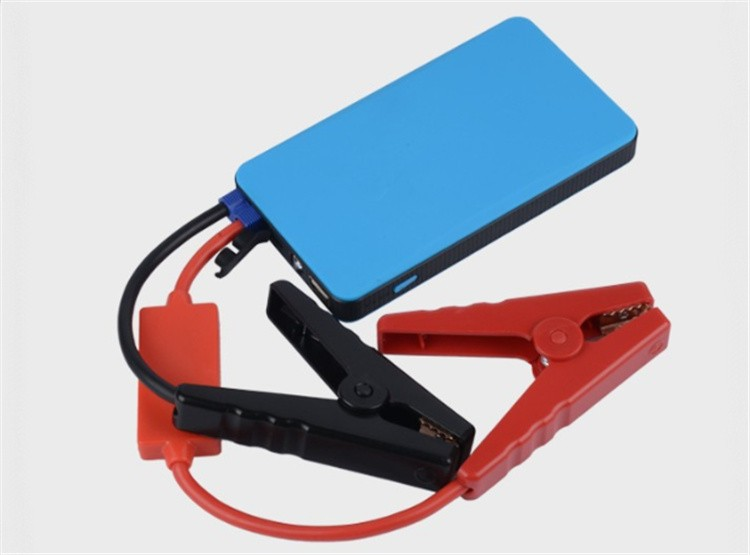 multi-function portable battery jump starter auto car emergency engine start 12V mini power bank car jump starter