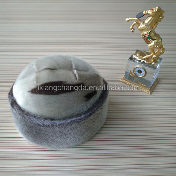Real Canada High Quality Sealskin Fur hat of American style