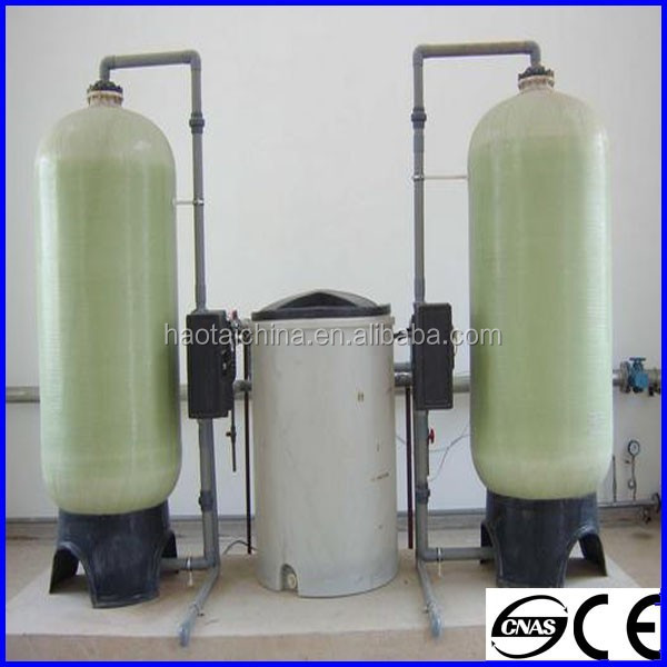 HT High efficiency Industrial Full-automatic water treatment / water softener for sale