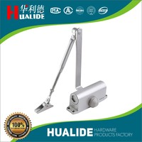 China product !!! Hydraulic Aluminium Automatic fire rated Door Closer, hold open hydraulic door closer 80~100kg