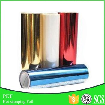 2017 Newest Multi Color Hot Stamping Foil for Paper