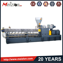 plastic raw material extruding machinery/plastic granule making machine for sale/tyre/rubber recycling machine