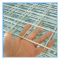 12 gauge galvanized welded wire mesh fence panel