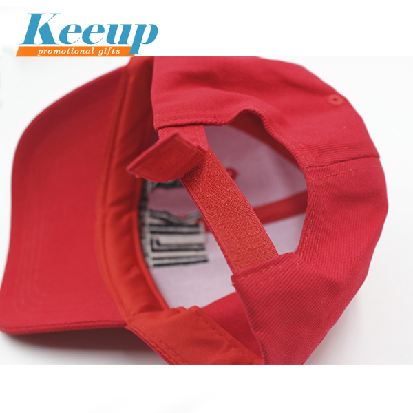 2017 OEM Promotional Logo Printed 6 Panel Custom Baseball Cap