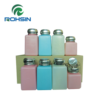 ESD High-quality Alcohol bottles Plastic colorful bottles for protections