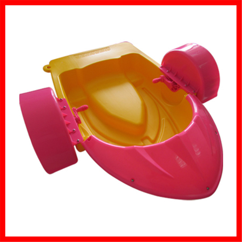 Shallow water or inflatable pool use one person/kids hand paddle boat for factory direct sale