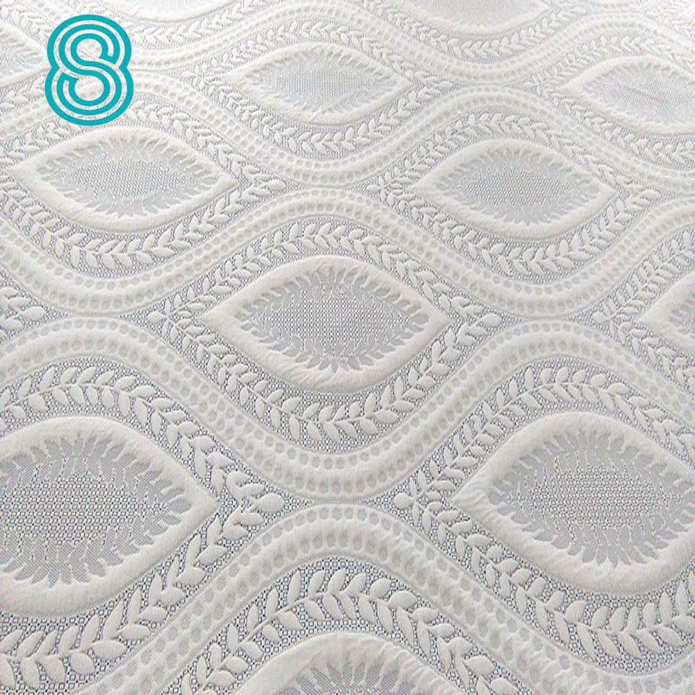 Hangzhou knitted polyester mattress ticking fabric for latex mattress