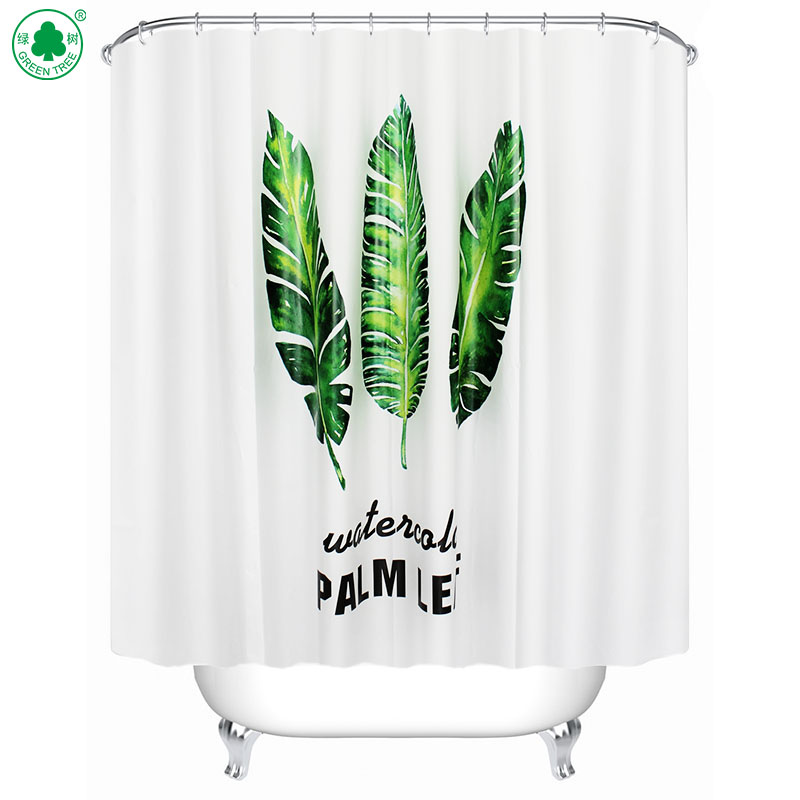 Wholesale High Quality Custom Printed Shower Curtains