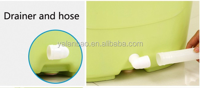 food grade PP5 material plastic bathtub for adult king size