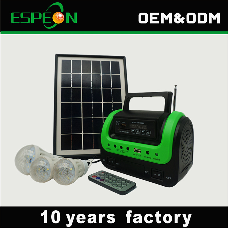 Mini Specification and Home Application solar kits for camping