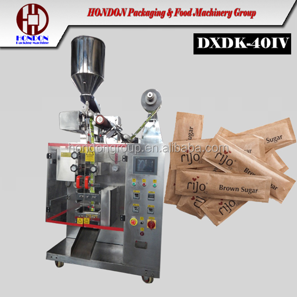 demerara sugar sachet packing machine