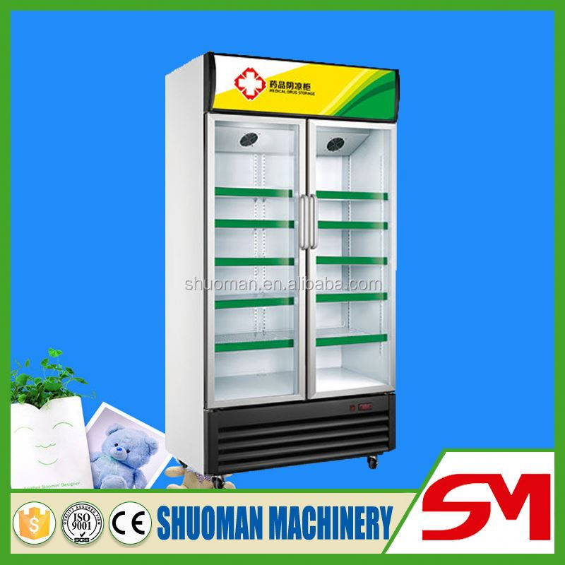 Most world popular high cooling speed small medicine showcases refrigeration