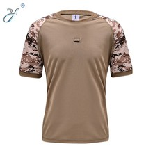 Customized Dry Fit Military Outdoor Hunting Camouflage T Shirts