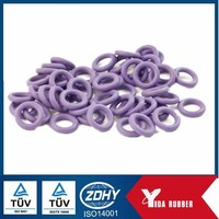 China factory manufacture small silicone rubber o ring seals with oil resist