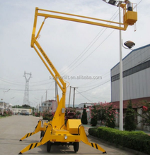 2016 used articulated boom lift manlift for sale
