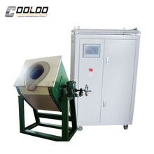CE Approved Scrap Steel Bronze Aluminum Metal Small Melting Furnace
