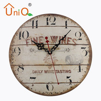 M1218 different types of metal wall clocks