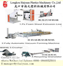 PS foam sheet extruder/extruding/making machine HY-75/90