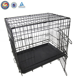 folding metal dog fence & dog kennel fence panel & kennels for dogs