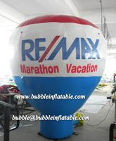 3m Advertising cold Air inflatable roof top balloons, giant ground balloons