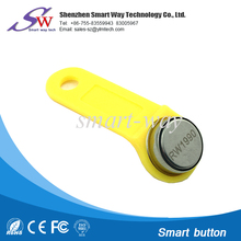 access control key tag ibutton rw1990 with plastic holder for door login