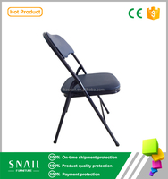 used metal folding chair seat cushions / folding metal chair pads