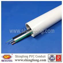 China Manufacturer 20mm plastic conduit tube with cover for electrical wire