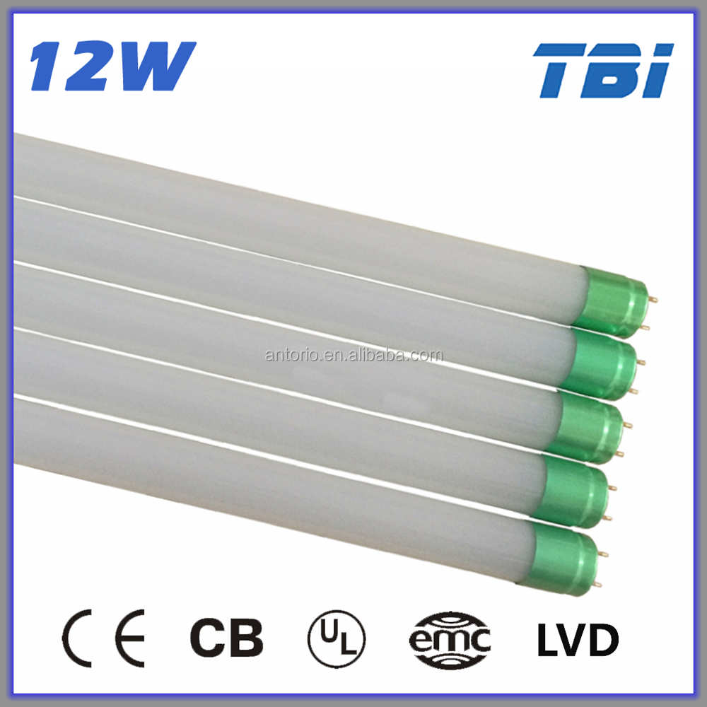 2016 new hot competitive price 900mm 12 w led color changing tube t8