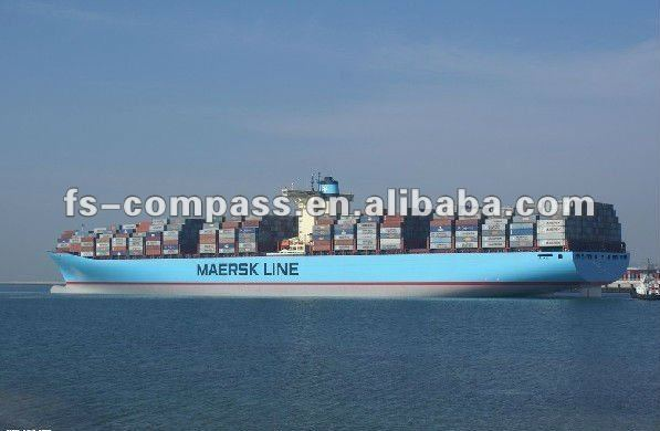Guangdong Ocean global shipping to egypt by maersk vessel tracking